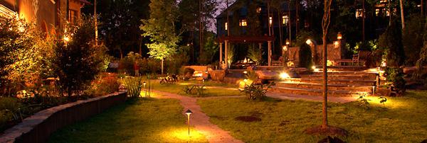 Landscape Patio And Deck Lighting Dos Amigos