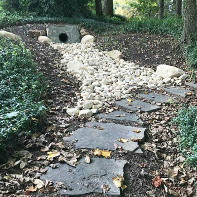 Drainage Systems, Grading, and Gravel - Drainage Solutions Dos Amigos Landscaping And Grounds Management