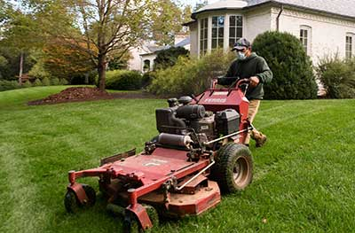 turf care- mowing